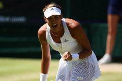 Muguruza hizo en Wimbledon una gran campaña.
