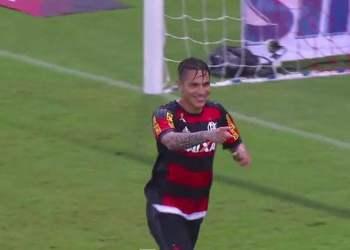 Paolo Guerrero: Mira su segundo gol con el Flamengo