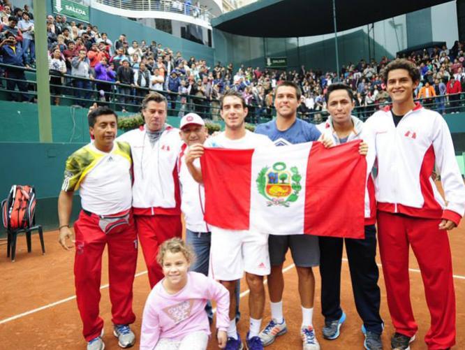 Perú mantuvo la categoría en la Copa Davis.