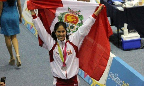 GRANDE Alexandra tras ganar un nuevo oro para el país en los Panamericanos.