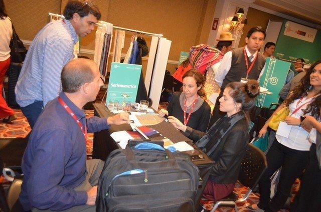 Perú presentó en la rueda de negocios productos del subsector textil, confecciones, alimentos, entre otros.