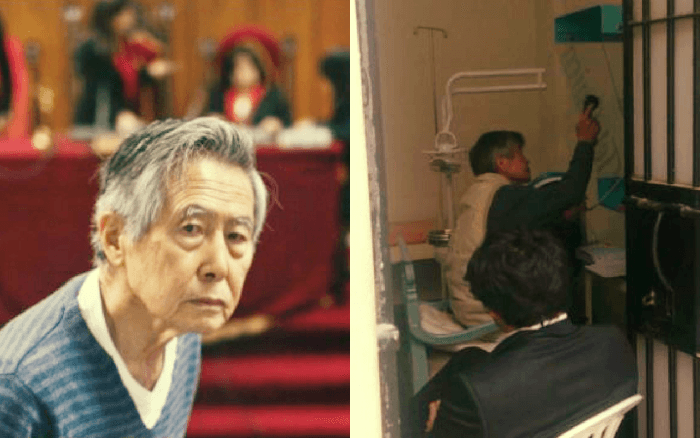 Alberto Fujimori recuperó teléfono público en la Diroes