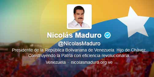 Denuncian que Nicolás Maduro y chavistas usan cuentas falsas en Twitter