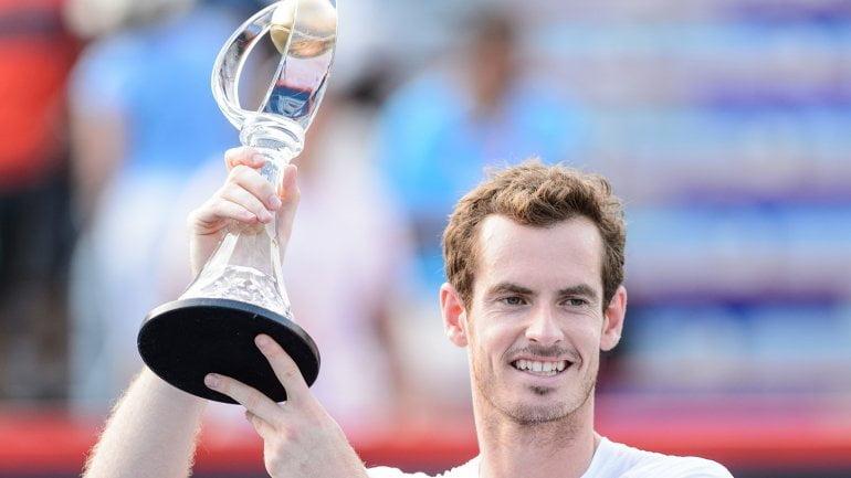 Murray celebró otro campeonato en Canadá.