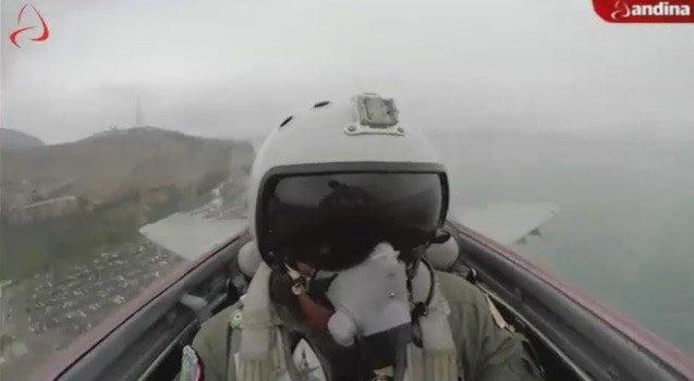 El impresionante vuelo de un MIG 29 desde la cabina del piloto (VIDEO)