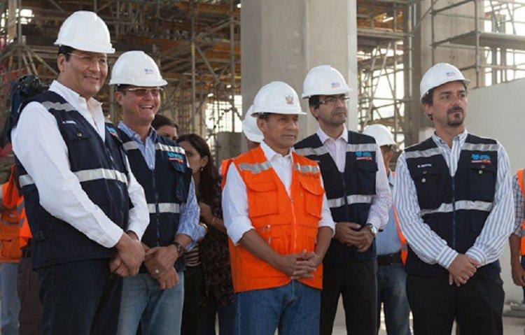 Ollanta Humala y funcionarios de Odebrecht