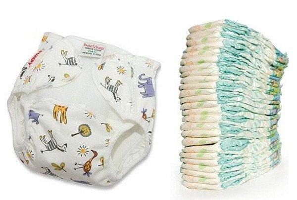 Los pañales para bebes fueron uno de los productos más demandados por los compradores bolivianos.