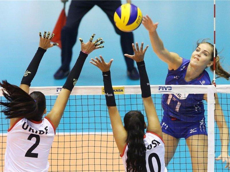 La selección nacional no fue rival para las rusas.