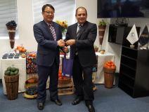 Directores de las entidades sanitarias de Perú y Corea del Sur trataron temas como el acceso de productos agrícolas peruanos al país asiático.