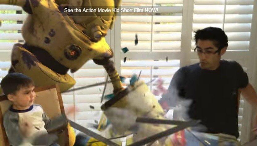 Este niño es viral en YouTube por efectos especiales