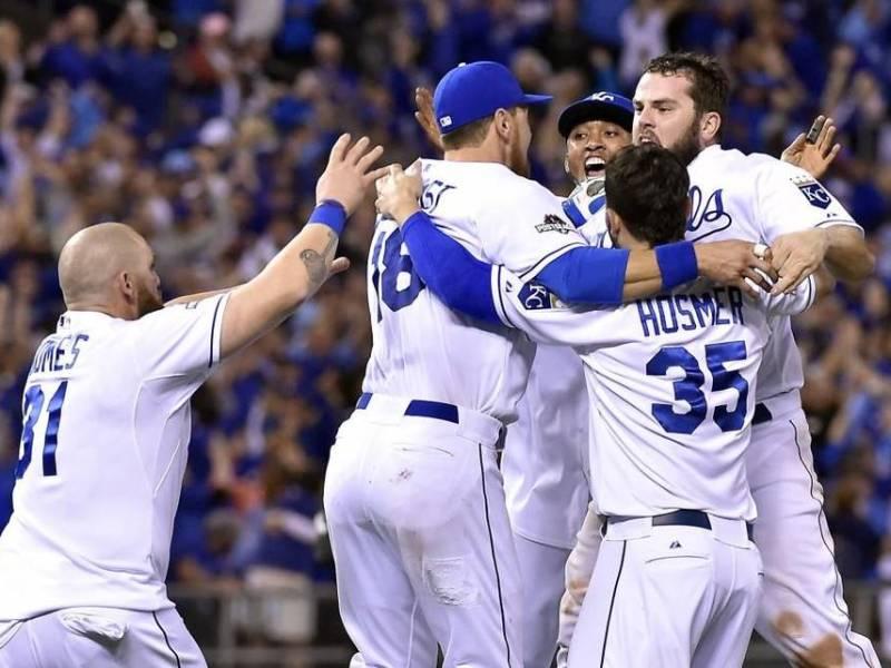 Los Royals celebraron su cuarto título de la Liga Americana.