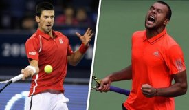 Djokovic y Tsonga se enfrentarán por el título de Shanghái..
