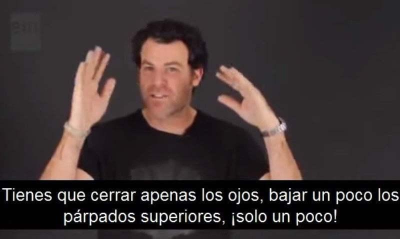 YouTube muestra muchas técnicas de squinching