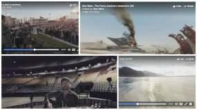 Facebook: Los impactante primeros videos en 360 grados