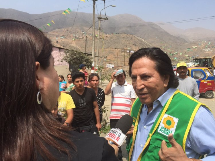 Alejandro Toledo es electo candidato presidencial por Perú Posible