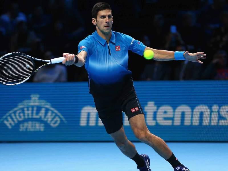 Djokovic fue letal en su primera presentación de las Finales ATP 2015.