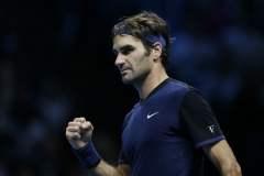 Federer se impuso merecidamente a Djokovic en Londres.