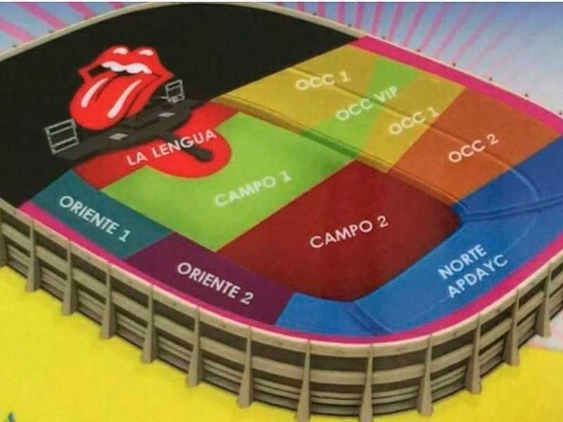 Rolling Stones tocan en Lima el 6 de marzo