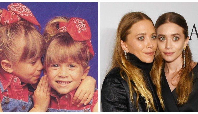 Las gemelas Ashley y Mary-Kate Olson tuvieron la labor de encarnar a Michelle Tanner.