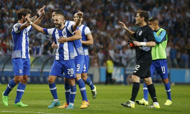 Porto va primero en la Liga lusa.