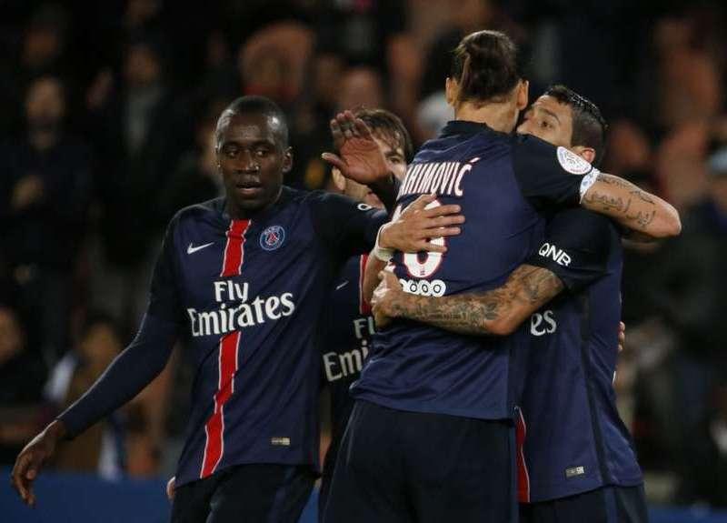 """Paris Saint German va rumbo al """"tri"""" consecutivo en el fútbol francés."""