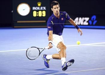 Djokovic impuso su favoritismo contra Halys.