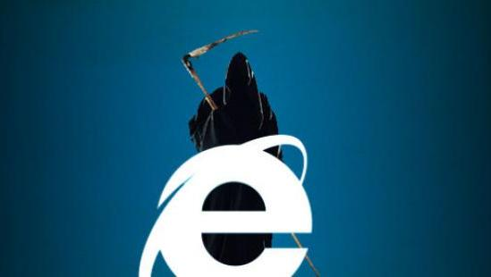 bye bye Internet Explorer