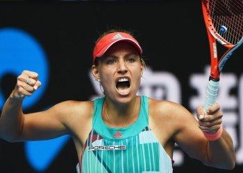 Kerber ya está en semifinales de Melbourne.