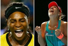 Serena Williams buscará otra Grand Slam cuando enfrente a Kerber en la final de Australia.