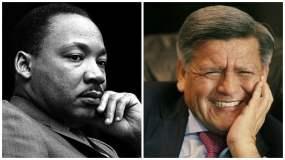 César Acuña, fue comparado con Martin Luther King