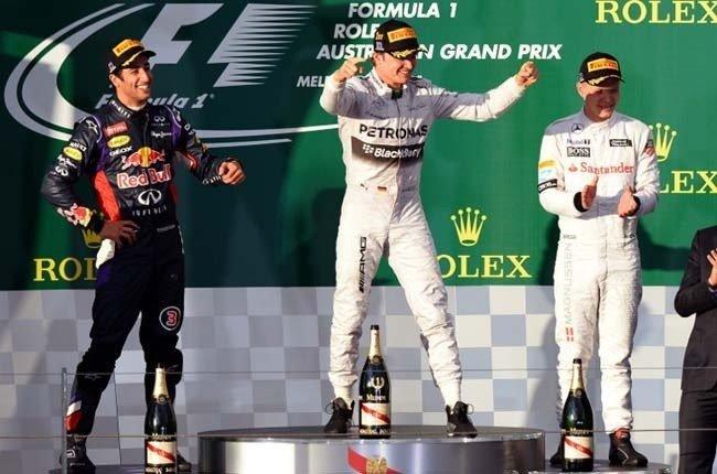 Nico Rosberg impuso condiciones en el circuito australiano de  Albert Park.