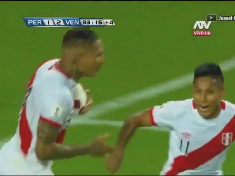 Celebra Raúl Ruidíaz su gol (Cortesía CMD y ATV)