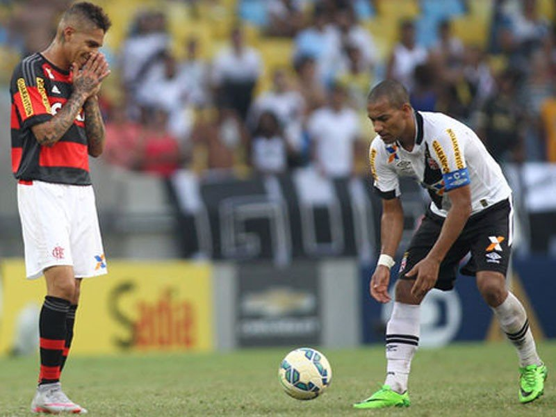 Paolo Guerrero le dijo adios a su pretensión de ser campeón del Campeonato Carioca con Flamengo.
