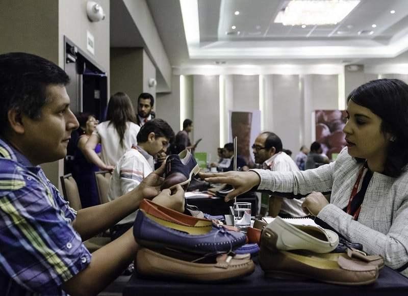 Los empresarios norteños presentaron una importante gama de productos agros y de calzados en Norte Exporta.