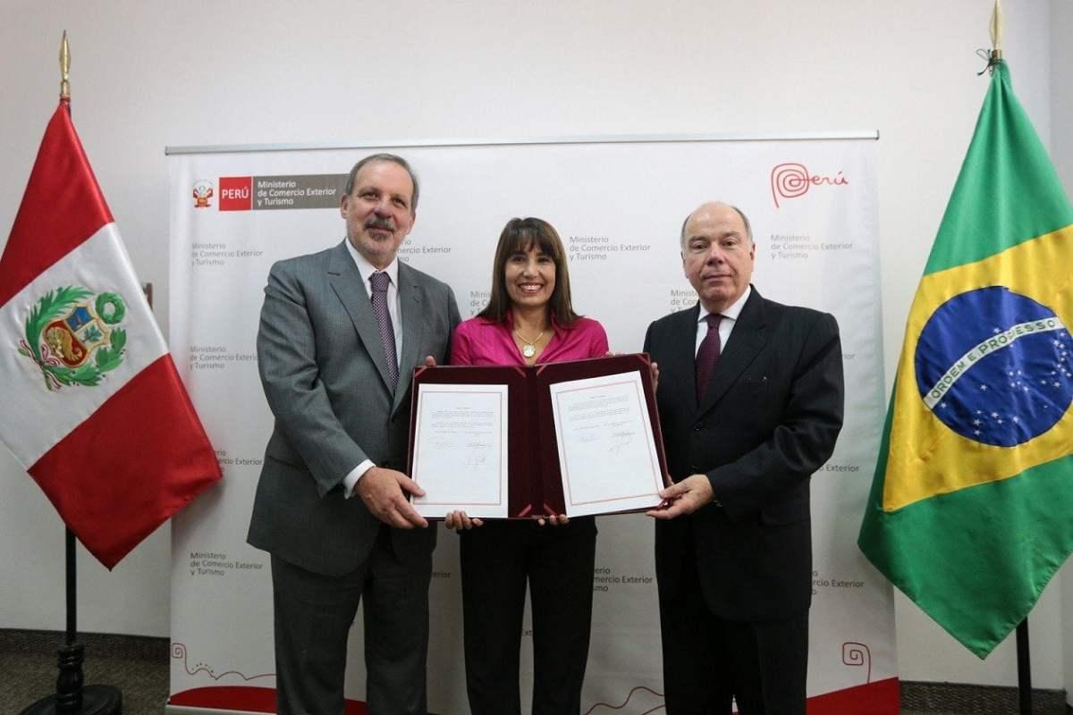 Gobiernos de Perú y Brasil firmaron acuerdos para impulsar relaciones comerciales bilaterales