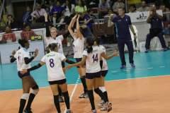 Regatas quedó a un triunfo de consagrarse campeón nacional de voleibol.
