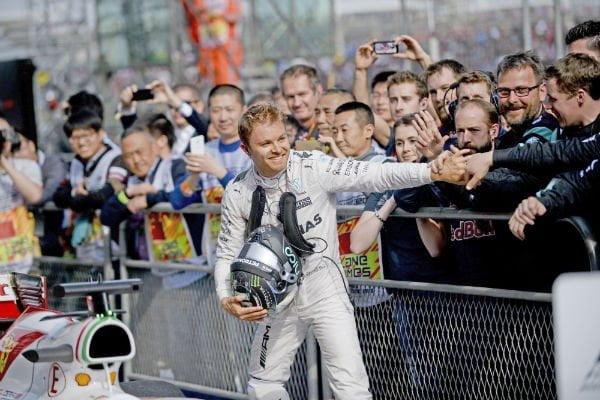 Nico Rosberg domina con absoluta autoridad la presente edición de la Fórmula 1.