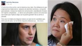 Verónika Mendoza sale al frente y rechaza a Keiko Fujimori en segunda vuelta
