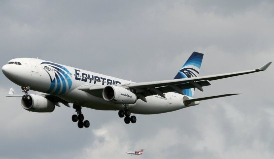 Avión de Egypthair (Referencial)