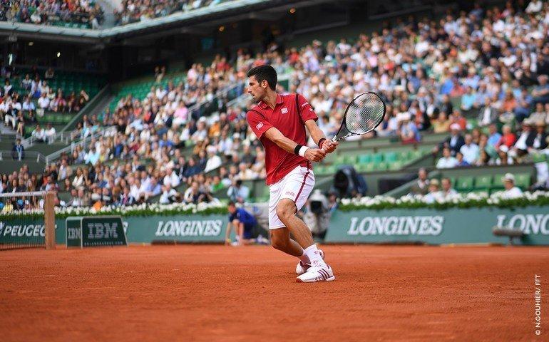 Djokovic dio otro paso importante en su objetivo de ganar Roland Garros.