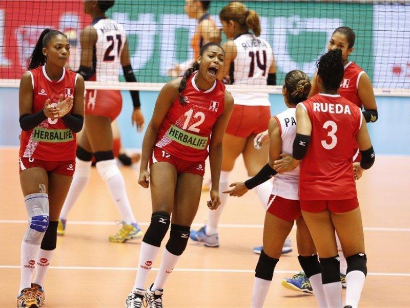 Perú recuperó el paso ante las dominicanas en su objetivo de llegar a Río de Janeiro 2016.