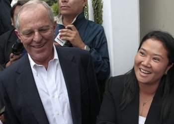 Keiko Fujimori y Pedro Pablo Kuczynski
