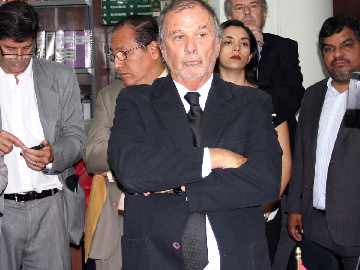 Rafo León en el Poder Judicial