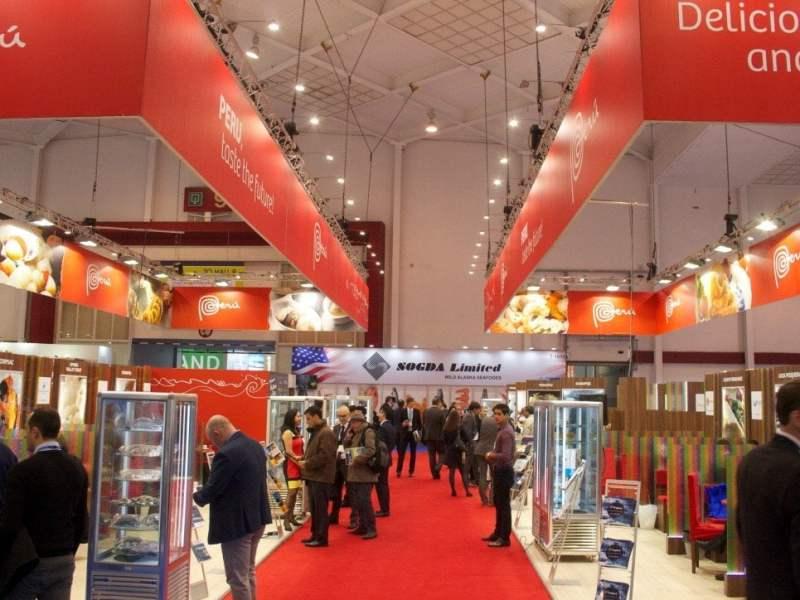 Siete de las 31 empresas peruanas que participaron exitosamente en la Feria Seafood de  Bruselas fueron pymes.