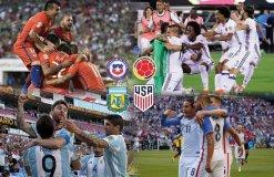 Chile, Argentina, Colombia y Estados Unidos buscarán alcanzar la final.