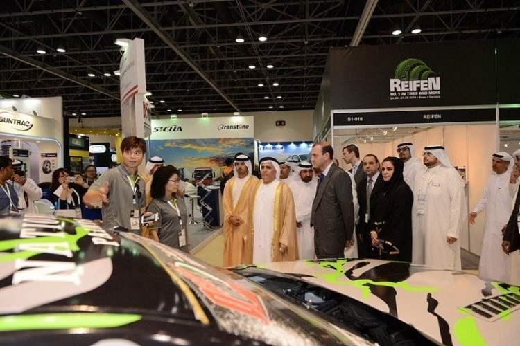 Dubái fue escenario de una feria de autopartes donde se dieron cita empresas peruanas.