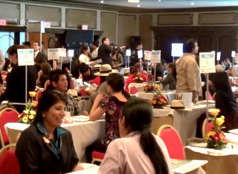 Empresarios peruanos se reunieron con sus pares ecuatorianos, bolivianos y colombianos.