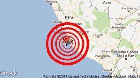 sismo en Ica