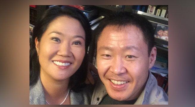 Keiko Fujimori y Kenji Fujimori