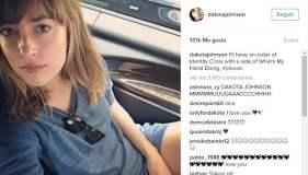 Instagram: foto hot de la actriz de '50 sombras de Grey'